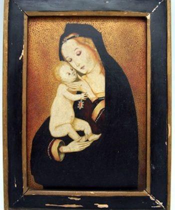 Madonna-oil-on-panel
