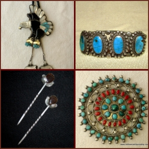Jewelry, Native American old & pawn